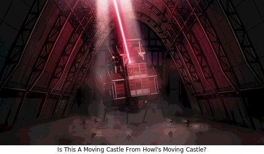 Screenshot Of A Moving Castle
