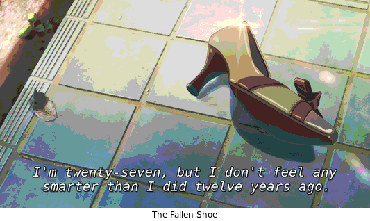 Screenshot Of The Fallen Shoe